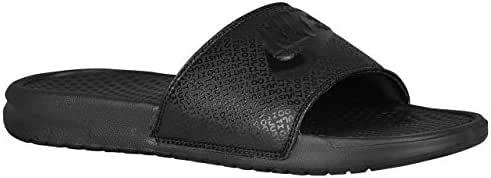 [ナイキ] benassi ベナッシ jdi slide サンダル 靴 シューズ men's メンズ 男性用 - all black ブラック/black 【並行輸入品】
