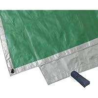 モンベル(mont-bell) テント ムーンライト 1 グラウンドシート グレー×ライトグリーン GY/LG 215×105cm 1122315