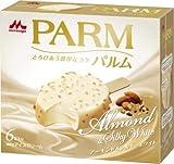 森永乳業 PARM アーモンド&シルキーホワイト58ml×6本×6箱