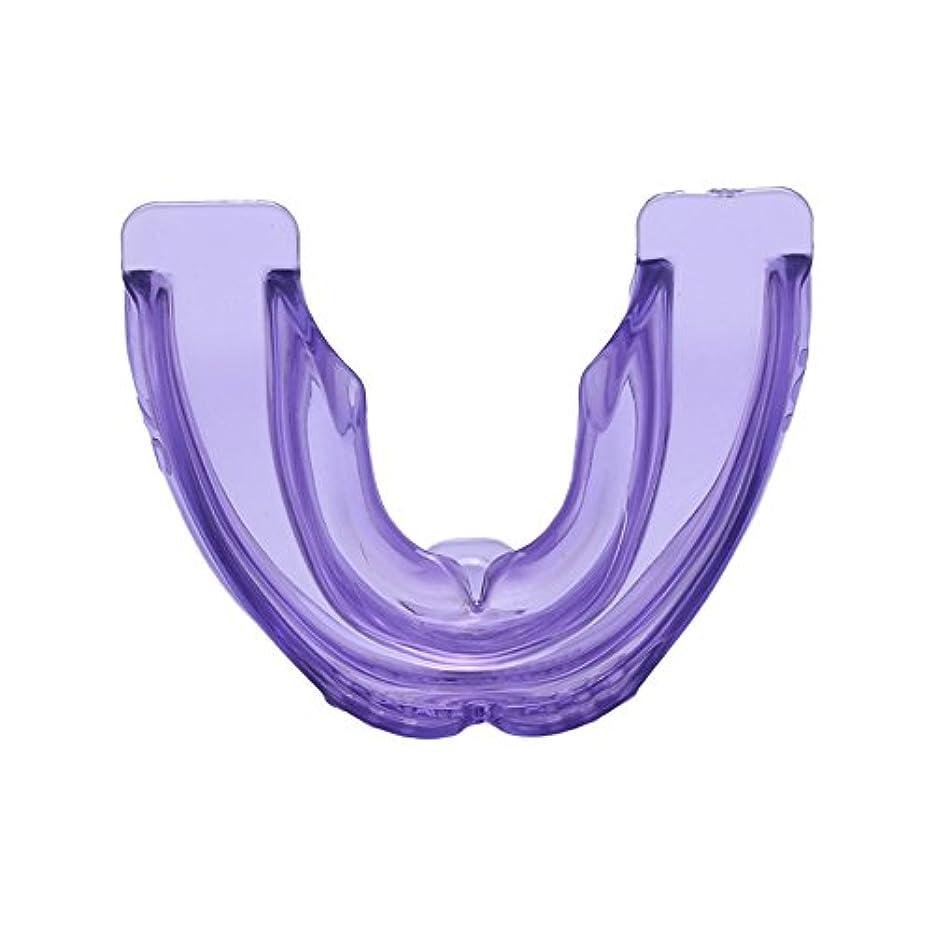 緩やかなタンカー角度歯科矯正 歯科 矯正用固位器 直歯システム 使いやすい パープル