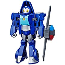 "TRANSFORMERS Whirl the Flight Bot 6"" Converting Robot Action Figure - Playskool Heroes - Rescue Bots Academy - Kids Toys - Ages 3+"