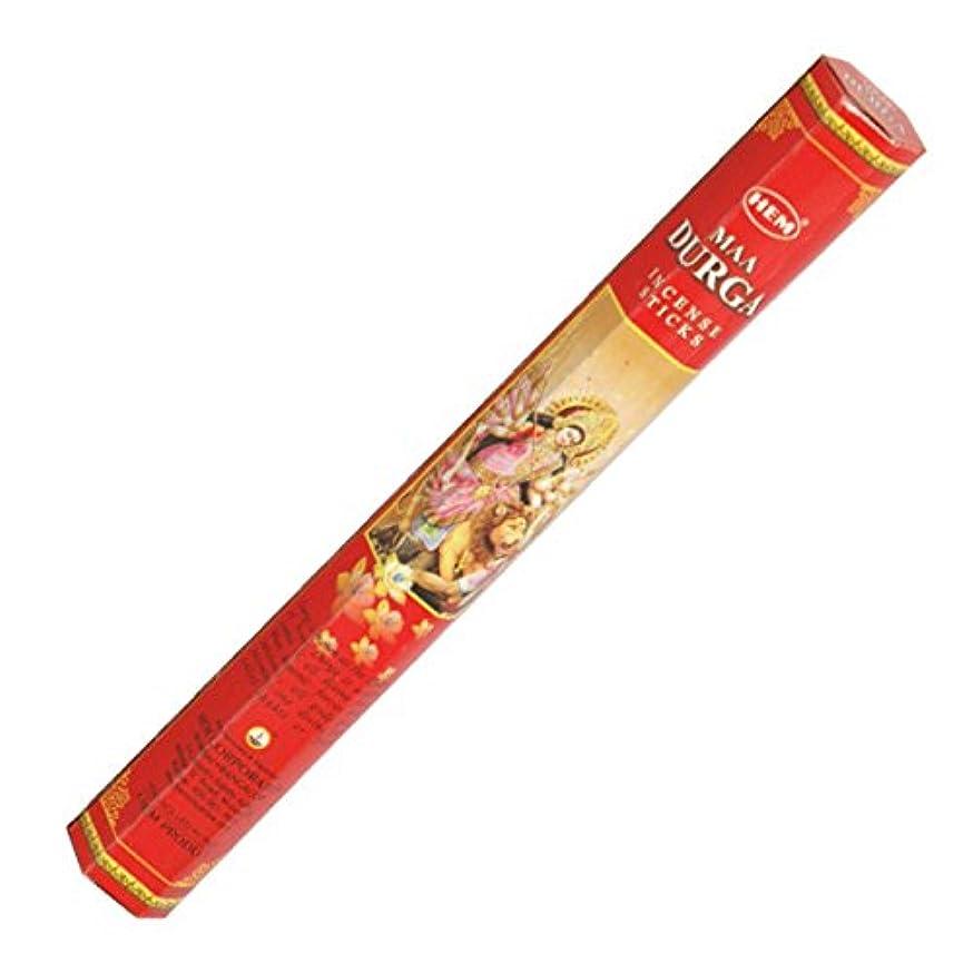 六カウボーイチャートHEM(ヘム) ドルガ DURGA スティックタイプ お香 1筒 単品 [並行輸入品]