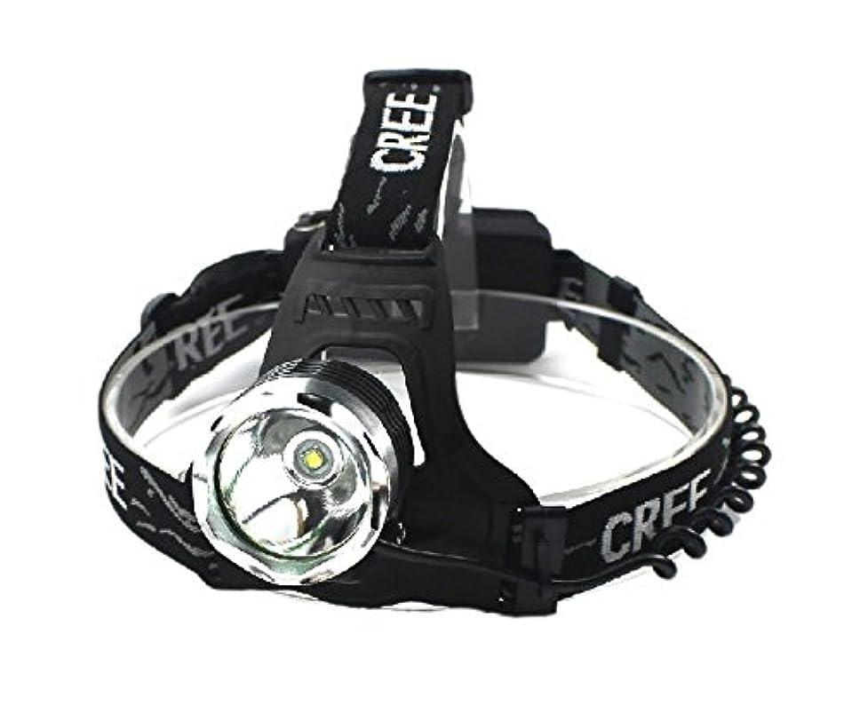 許可する評決嘆願GOODGOODS LED 充電式 ヘッドライト 1800LM 作業用 高輝度 ヘッドランプ CREE XM-L T6 防水【一年保証】HL80
