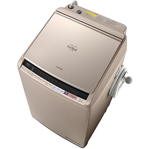 日立 タテ型洗濯乾燥機 ビートウォッシュ 10kg シャンパン BW-DV100B N