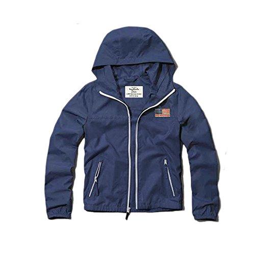 (カリホリ)Cali Holi ジャケット メンズ ナイロン 春 夏 大きいサイズ おしゃれ ナイロンジャケット マウンテンパーカー(M ブルーxブルー) -