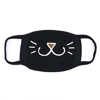 MASK 黒マスク,black マスク,ブラックマスク 韓国マスク ファッションマスク エクソ EXO bigbang 2PM 2AM super junior スーパージュニア ウニョク テギョン チャニョル クマ 猫 クママスク ビッグバン (0529026)