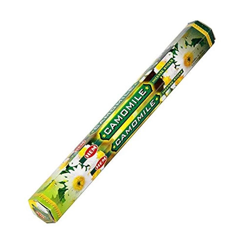 黄ばむグリル感覚HEM(ヘム) カモミール CAMOMILE スティックタイプ お香 1筒 単品 [並行輸入品]