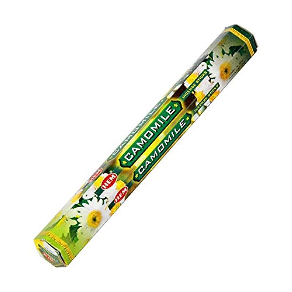 従事した怠な財団HEM(ヘム) カモミール CAMOMILE スティックタイプ お香 1筒 単品 [並行輸入品]