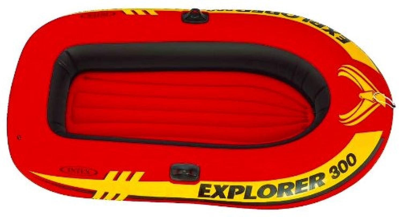INTEX(インテックス) エクスプローラーボート300SET 211カケル117カケル41cm 58332 [ニホンセイキヒン] ME-7070