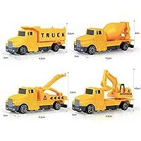 Kaimu 1:60 建設工業 インエルティア エンジニアリング車両 キッズ 合金モデル おもちゃ プッシュ&プルおもちゃ 14x15x4cm/5.5x5.9x1.6inch KMM033333_4#