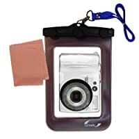Gomadic防水カメラ保護バッグSuitable for the Nikon Coolpix 4200–UniqueフローティングデザインKeepsカメラClean and Dry