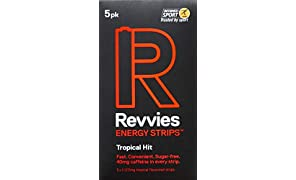 Revvies Energy Strips Tropical Hit (10 x 5 Pack)
