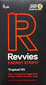 Revvies Energy Strips Tropical Hit (5 x 5 Pack)