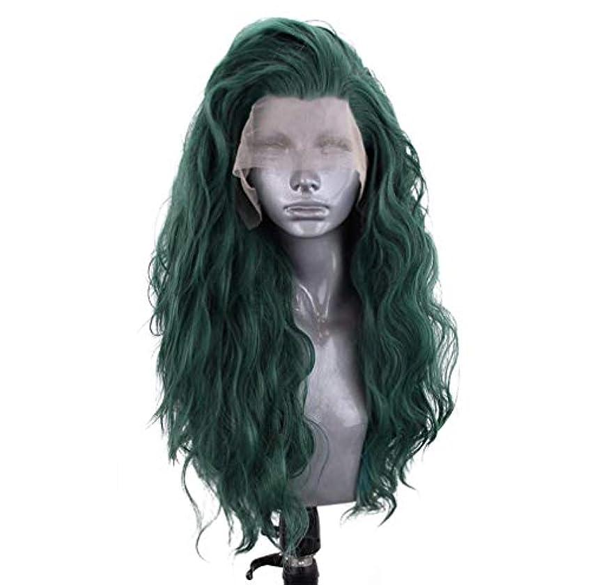 明示的に永久にしおれた女性レースフロントウィッグ人毛150%密度ボディウェーブ自然色ブラジルボディウェーブウィッグ
