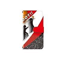 Disney Mobile on docomo F-07E 対応 ほぼ全機種対応 高品質印刷 デザイン手帳 手帳型 カメラ穴搭載 ダイアリー スマホケース スマホカバー レザー 横開き ケース カバー デザインD
