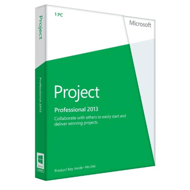 プット中真鍮Microsoft Office Project 2013 [プロダクトキーのみ]