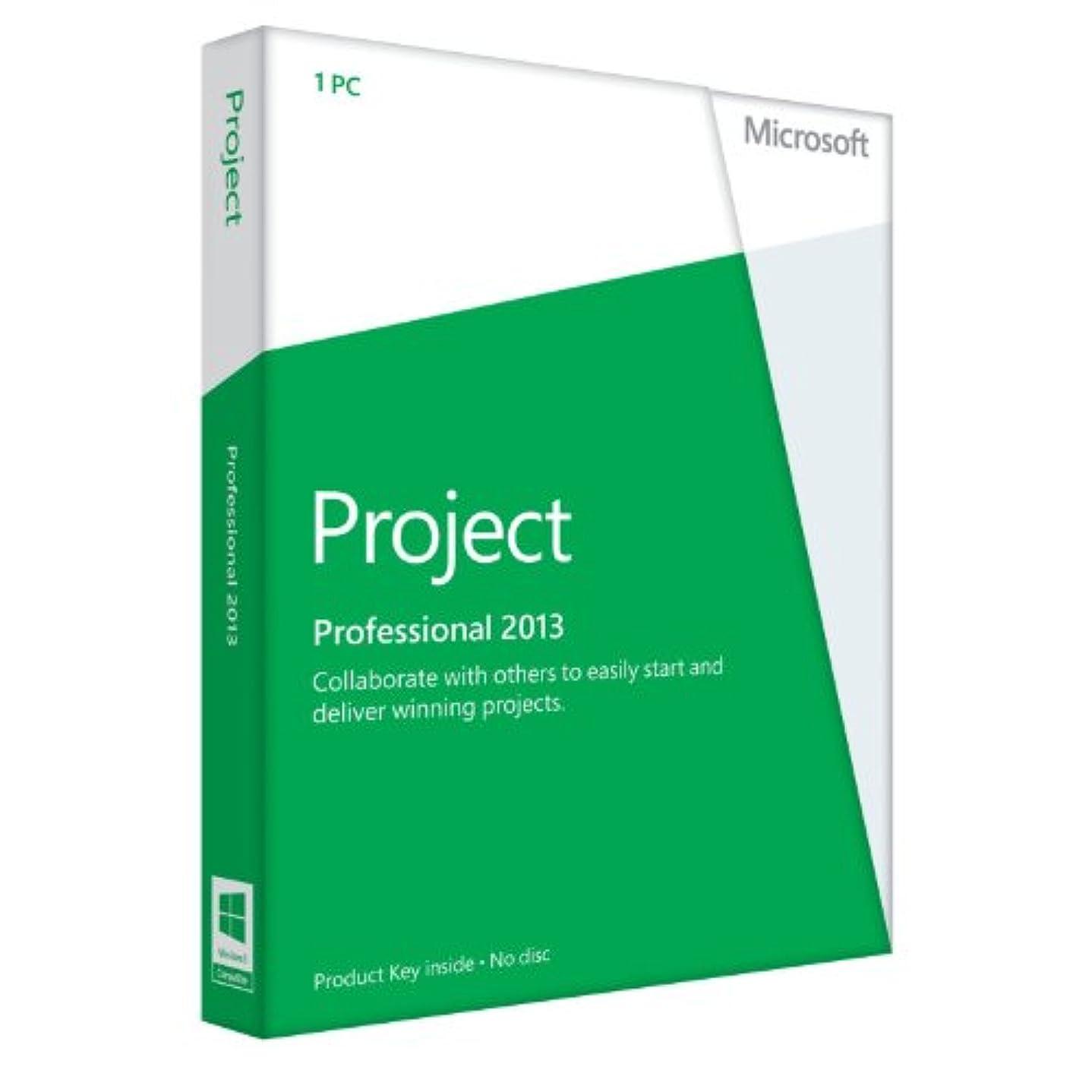 自治ベッド包囲Microsoft Office Project 2013 [プロダクトキーのみ]