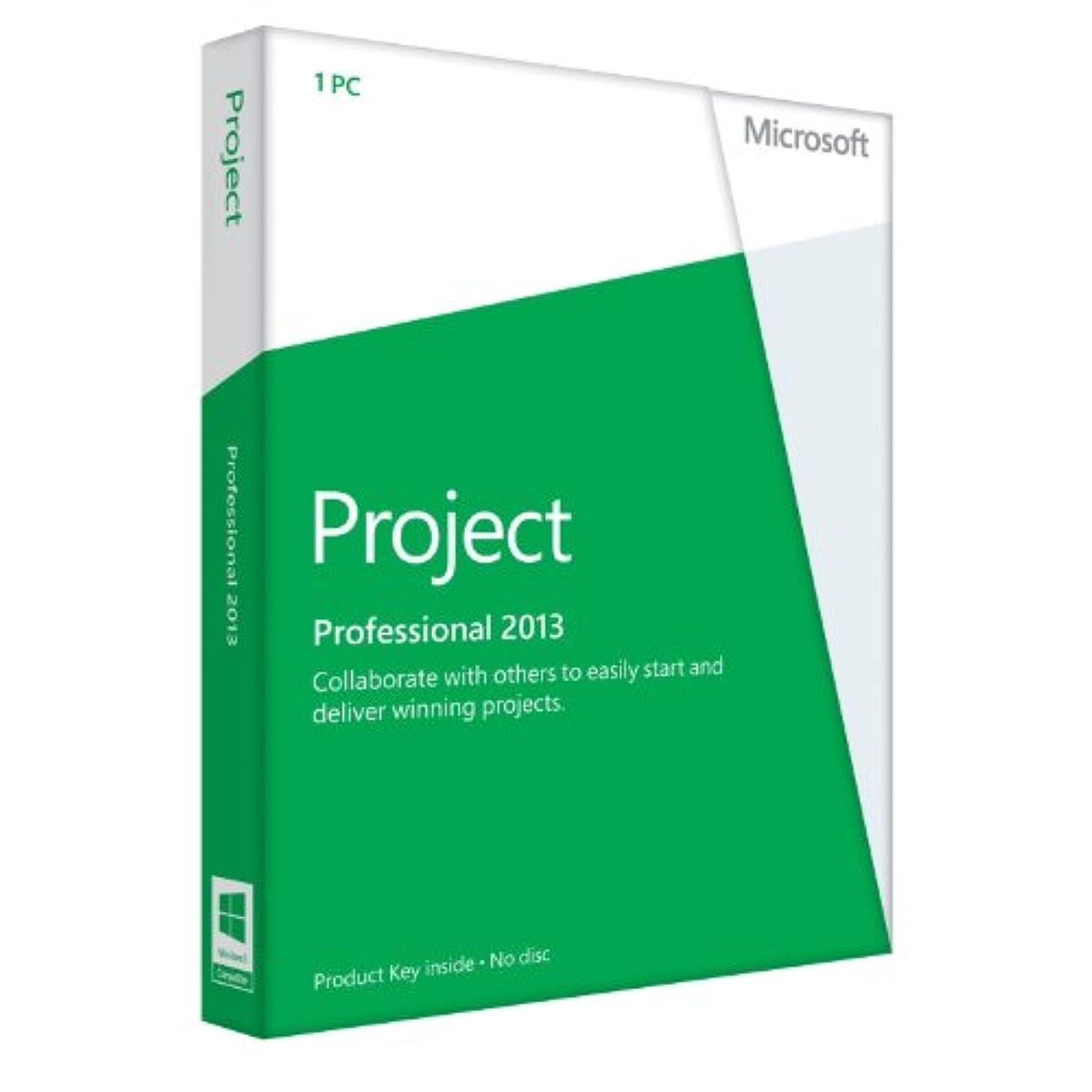 洗練タイマーストレージMicrosoft Office Project 2013 [プロダクトキーのみ]