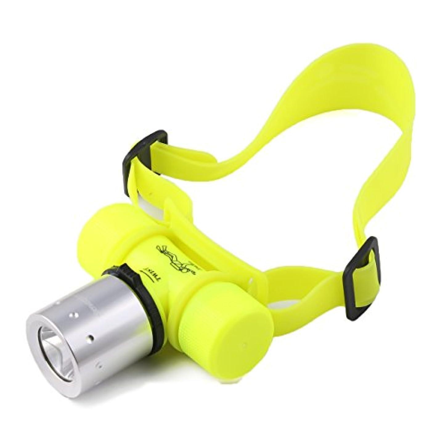 裸スープ報酬のヘッドライト Yeezii LEDヘッドランプ 小型軽量 3モード 300ルーメンヘッドライト 潜水15-20m 夜釣り 工事 作業適用