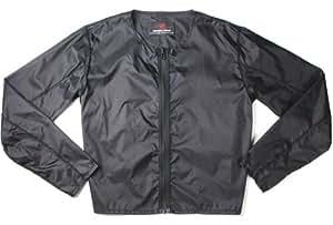 ラフアンドロード(ROUGH&ROAD) バイク用 防風インナージャケット ブラック L RR7954