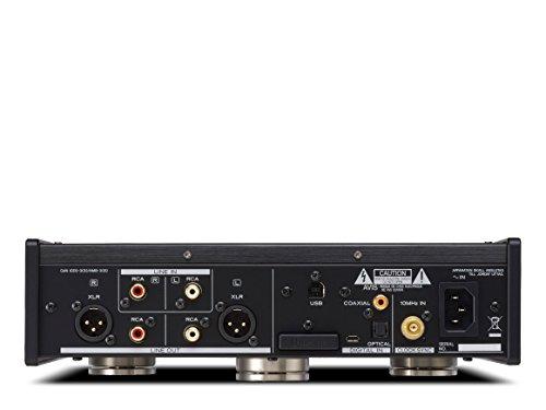 TEAC (ティアック) USB DAC ヘッドホンアンプ ブラック UD-505-B B077TKN2ZN 1枚目