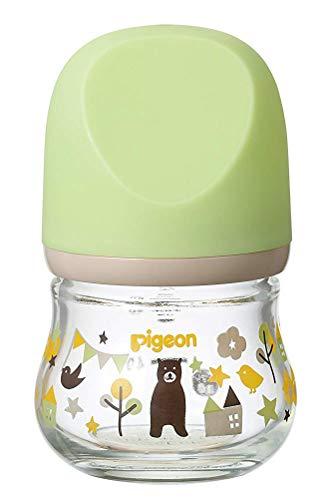 ピジョン Pigeon 母乳実感 哺乳瓶 耐熱ガラス製 クマ 80ml 0ヶ月から おっぱい育児を確実にサポートする...