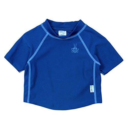 アイプレイ iplay ラッシュガード 半袖 UPF50+ UVカット ベビー キッズ 水着 3T:2-3歳 ロイヤルブルー