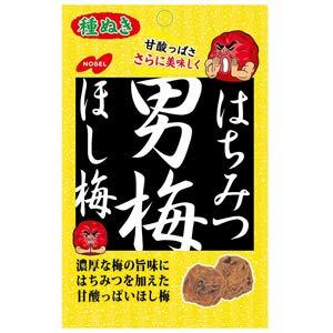 ノーベル製菓 はちみつ男梅ほし梅 (20g)