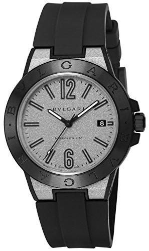 [ブルガリ]BVLGARI 腕時計 ディアゴノマグネシウム シルバー文字盤 DG41C6SMCVD メンズ 【並行輸入品】