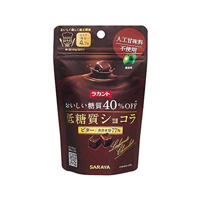 袋アレイハンディキャップサラヤ ラカント ショコラビター 40g【3個セット】