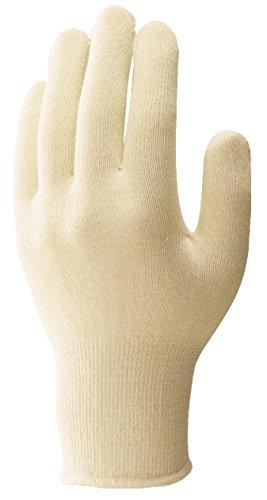 エスコ 手袋 インナー 綿シームレス 20枚 EA354GL-11