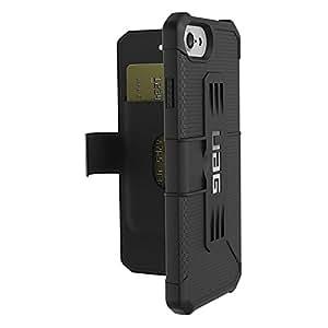 URBAN ARMOR GEAR 4.7インチ対応(iPhone8/7/6s) Metropolis Case 手帳型 ブラック UAG-IPH7F-BLK 【日本正規代理店品】