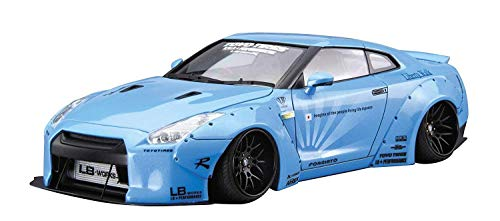 1/24 リバティーウォーク No.9LBワークス R35 GT-R Ver.1