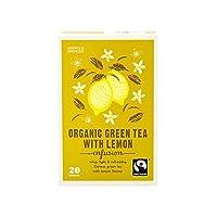 (Marks & Spencer (マークス&スペンサー)) レモン50グラムと有機緑茶 (x4) - Marks & Spencer Organic Green Tea With Lemon 50g (Pack of 4) [並行輸入品]