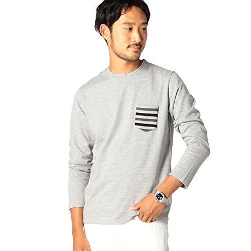 (ビームス) BEAMS / リブポケット クルーネック Tシャツ 11140505803 16 T.GRAY M