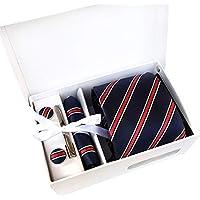 BIGBOBA Tie Spot Gift Box 6 Piece Suit Group Tie Business Dress Wedding Tie Anniversary Birthday Christmas Gift for Dad Boyfriend Friends