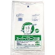 スーパーパワーゴミ袋 45L/半透明 9000071