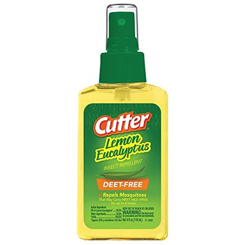 日光レース繁栄Cutter® Lemon Eucalyptus Insect Repellent - 4 fl oz(118ml)カッター レモンユーカリ 虫除けスプレー