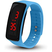 Creative Fashion Watches Bracelet LED Silicone Sports Electronic Couple Practical Durable Precise