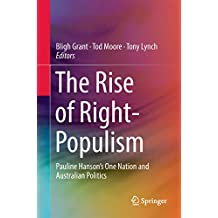 The Rise of Right-Populism: Pauline Hanson's One Nation and Australian Politics