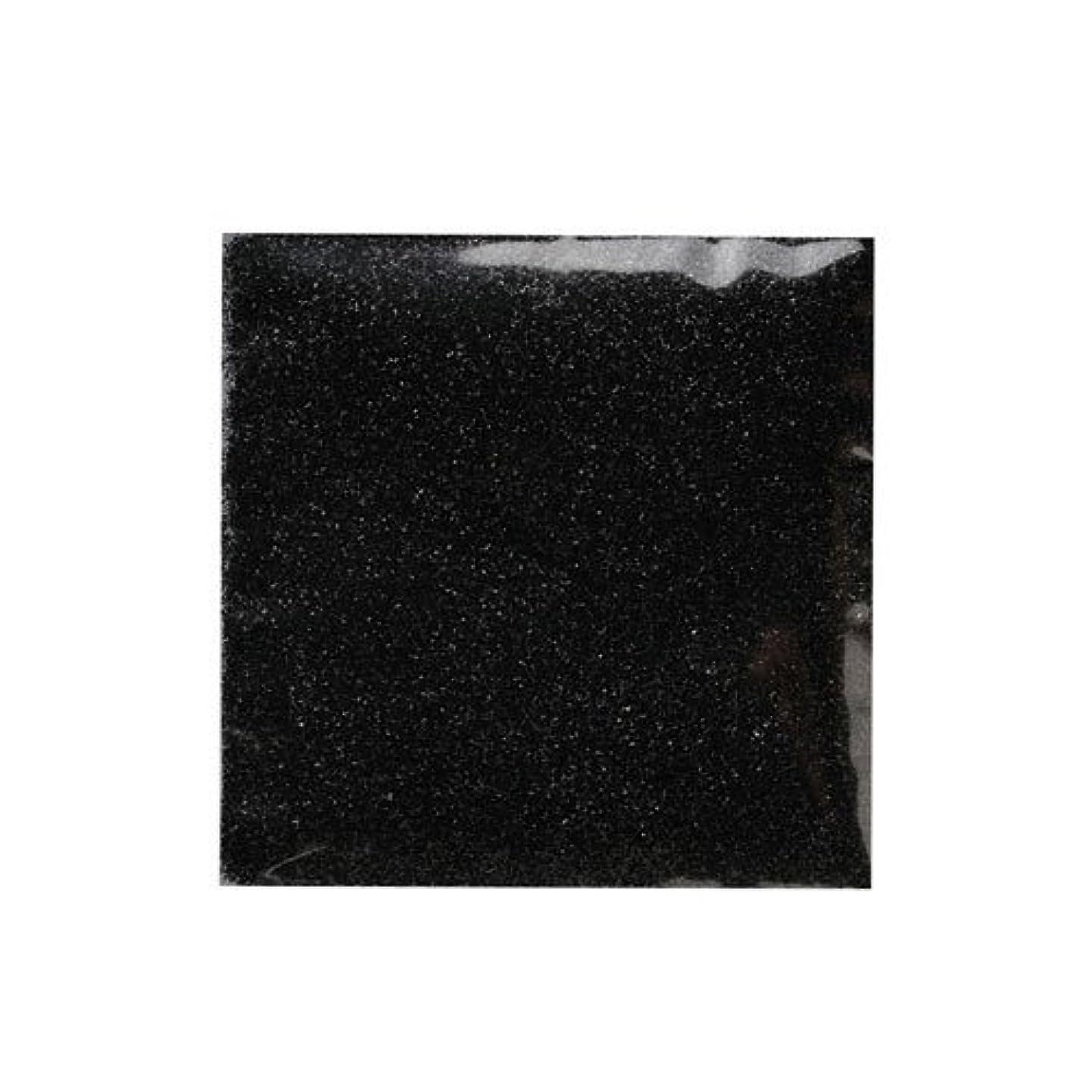 パラダイス振る舞うアルコールピカエース ネイル用パウダー ピカエース ラメメタリック #507 ブラック 2g アート材