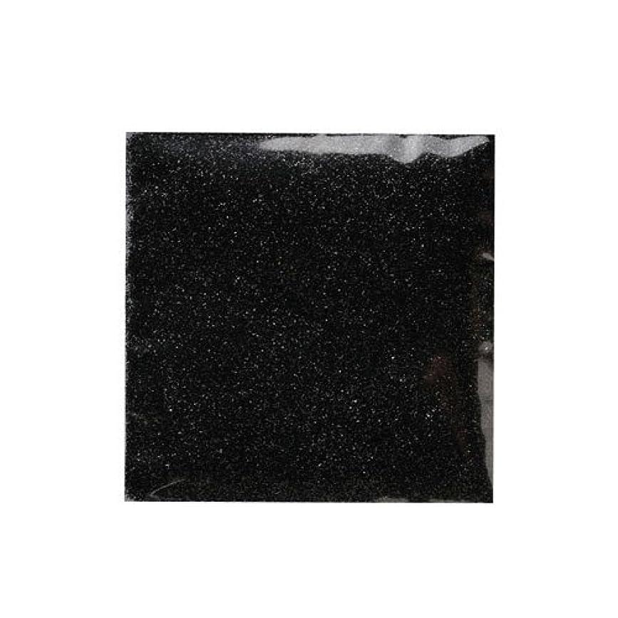 フリルバストリダクターピカエース ネイル用パウダー ピカエース ラメメタリック #507 ブラック 2g アート材
