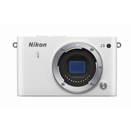 Nikon ミラーレス一眼 Nikon 1 J3 ボディー ホワイト N1J3WH