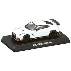 京商 1/64 ニッサン GT-R ニスモ パールホワイト