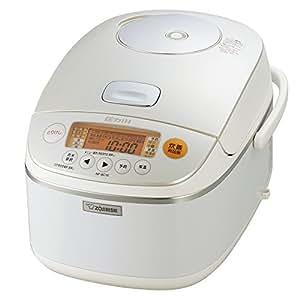 象印 圧力IH炊飯器 1升 ホワイト NP-BC18-WA