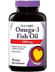 Omega-3 Fish Oil Lemon - 1000 mg - 150 Softgels by Natrol