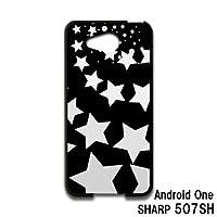 Android One SHARP 507SH スマホケース カバー 星 RB-178E