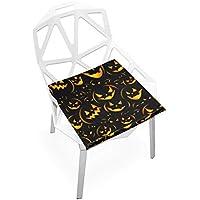 座布団 低反発 怖い かぼちゃ ハロウィン ビロード 椅子用 オフィス 車 洗える 40x40 かわいい おしゃれ ファスナー ふわふわ fohoo 学校