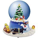 Tweety & SylvesterクリスマスツリーAnimated Water / Snow Globe