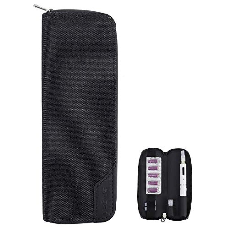 フィット緊張ジュニアプルームテックプラス/Ploom Tech Plus 収納ケース 財布 カード 収納ケース 軽量 プルームテックプラス 完全収納 電子タバコケース